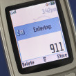 Stock Photo: Emergency number 911