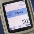 Emergency number 911 — Stock Photo