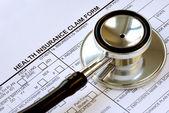 Amerika birleşik devletleri'nde sağlık maliyeti yükselen — Stok fotoğraf