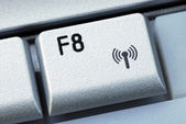 The F8 function key — Stock Photo
