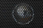 Close up view of the speaker — Stock Photo