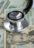 在美国医疗成本上升 — 图库照片