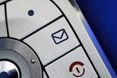 Close up view of the email symbol — Stock Photo