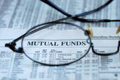 Focus on mutual fund investing — Foto Stock