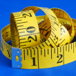 Royalty-Free Stock Photo: A measuring tape