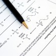 Working on Organic Chemistry — Stock Photo