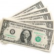 US dollars background — Stock Photo