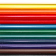 Colored pencils isolated on white — Stock Photo #2024502