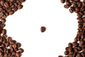 Macro of coffee — Stock Photo