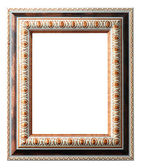 Old antique frame over white background — Stock Photo