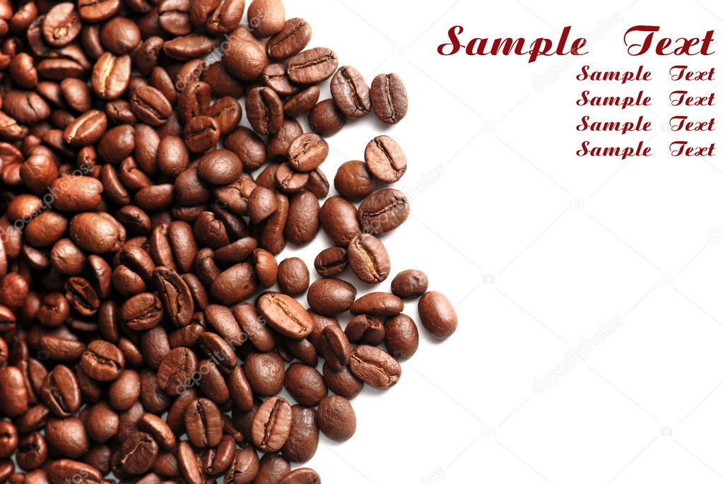 Coffee bean - Stock Image