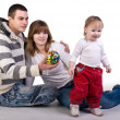 Beautiful young family — Stock Photo #2049133