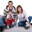 Beautiful young family — Stock Photo #2049167