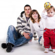 Beautiful young family — Stock Photo #2049174