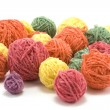 Ball of the colour threads 3 — Stock Photo