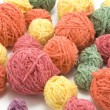 Ball of the colour threads 7 — Stock Photo