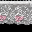 Lace decorated by pattern — Stock Photo #2012136