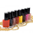 Colour varnish for nail — Stock Photo #2012436