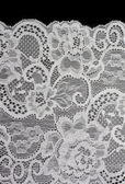 White decorative lace with pattern — Stock Photo