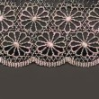 Decorative lace with pattern — Stock Photo #2079189