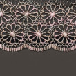 Royalty-Free Stock Photo: Decorative lace with pattern