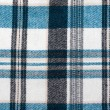 Knitted colour plaid fabrics — Stock Photo