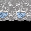 Lace decorated by pattern — Stock Photo #2094565