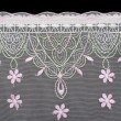 Lace decorated by pattern — Stock Photo #2094872