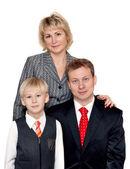 Portrait to families — Stock Photo