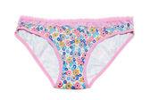 Feminine underclothes, color panties — Stock Photo