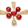 Cristmas embellishment — Stock Photo