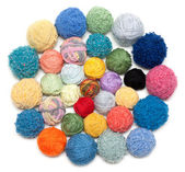 Ball of the threads for knitting — Stock Photo