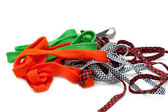 Colour shoelace — Stock Photo