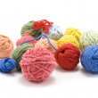 Ball of the colour threads 5 — Stock Photo