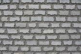 Sulfuric brick wall — Stock Photo