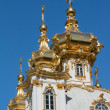 Golden dome church — Stock Photo