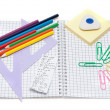 Stock Photo: School accesories