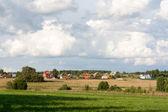 сельские домики — Стоковое фото
