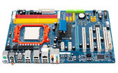 Charge motherboard — Stock Photo