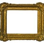 Golden vintage picture frame — Stock Photo #2026772