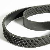 Ribbed motor belt — Stock Photo