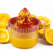 Orange juicer — Stock Photo