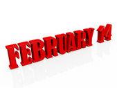 February 14 — Stock Photo