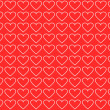 Stock Photo: Valentines background with hearts