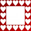 Valentines background with hearts — Stock Photo #2054988