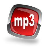 Mp3 file internet icon — Stock Photo