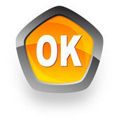 Ok internet icon — Stock Photo