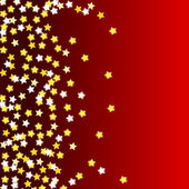 Red background with stars — Stock Photo