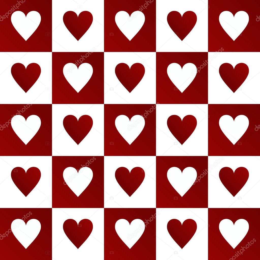 Valentines background with hearts — Stock Photo #2054930