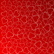Valentines background with hearts — 图库照片